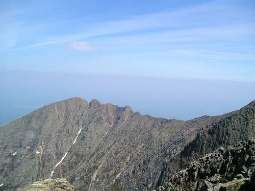 The Knife Edge viewed from...