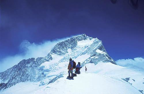 Makalu as seen from the...