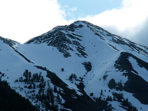 Another view of Malorey Peak...