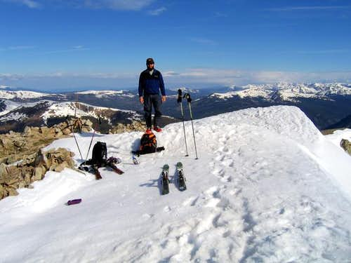 Me on the summit of Peak 9 on...
