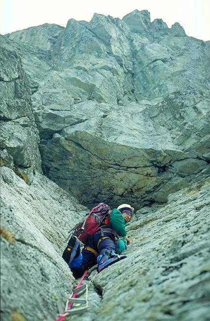 winterclimbing in Szare...