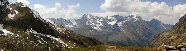 Panoramic view from Casolari...