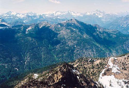 The highpoint of Sisi Ridge...