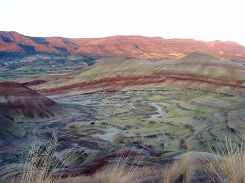 The Painted Hills near Fileds...