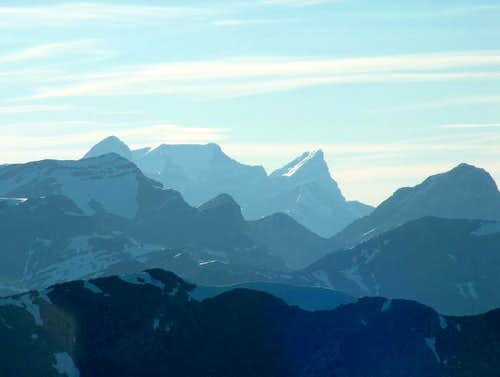 The Wedge and Opal Ridge from...