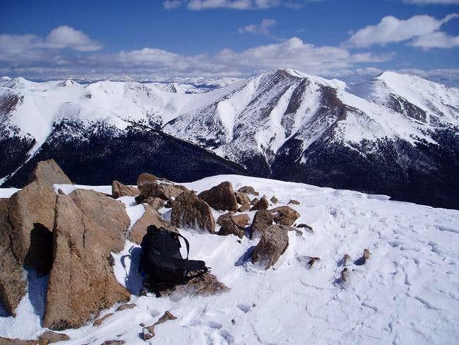 The summit area of Sniktau,...