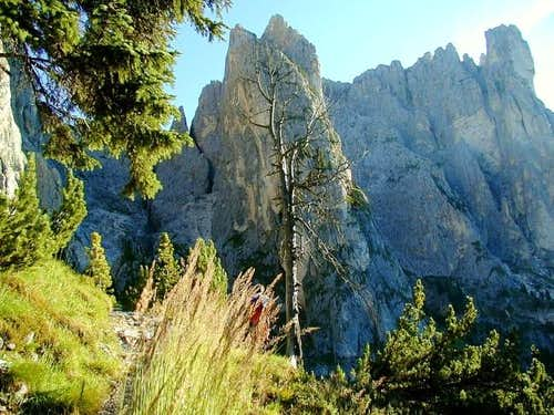 Typical Dolomites rocks just...