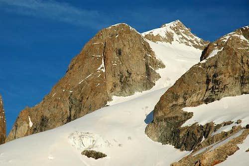 Glaciers de la grande Ruine