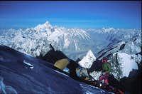 Baltoro glacier from 7000m...