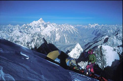 Baltoro glacier from 7000m...