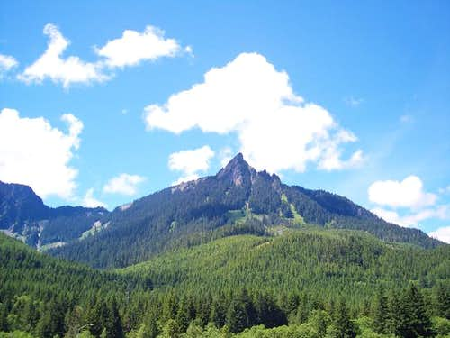 McClellan Butte from the...
