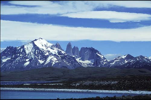 Torres del Paine from Lago...