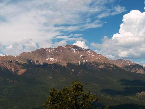 Pikes Peak from the summit of...