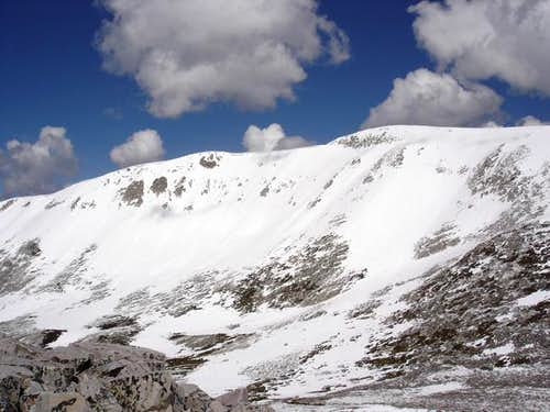 Medicine Bow Peak (bump on...