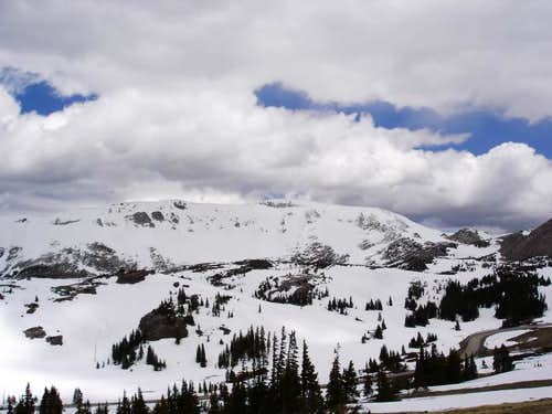 Medicine Bow Peak from the...