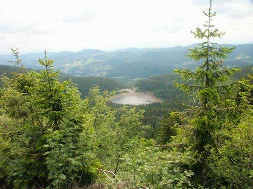 Lac Noir (Black Lake) - June...