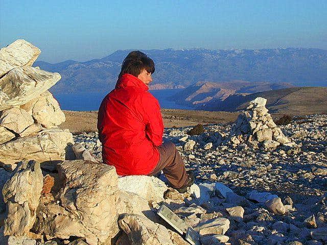 On the summit of Obzova,...