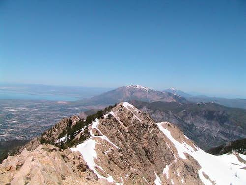 From the top of Mt. Ogden...