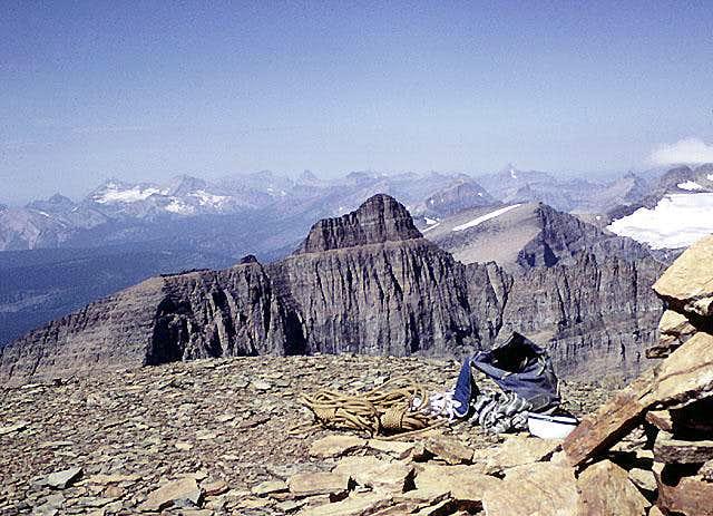 View northwest from Mount Wilbur