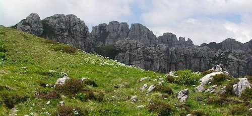 the ridge SN as seen while...