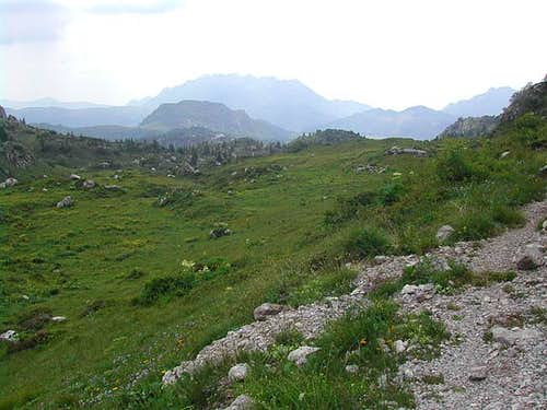 a view on Resegone from the...