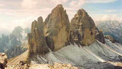 "View to ""Tre Cime di..."