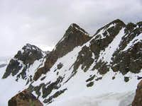 Sunrise Peak (center) viewed...