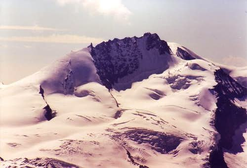 NW face seen from Bishorn...
