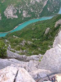 the gorge from crete du...