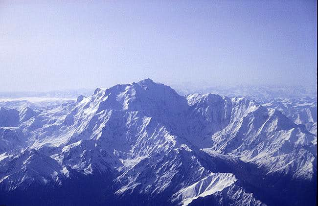 The Nanga Parbat range as...