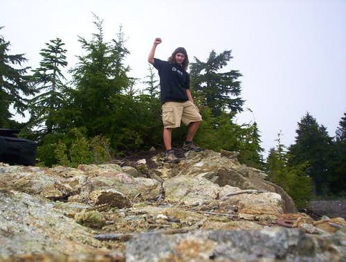 Me, standing at the highpoint.