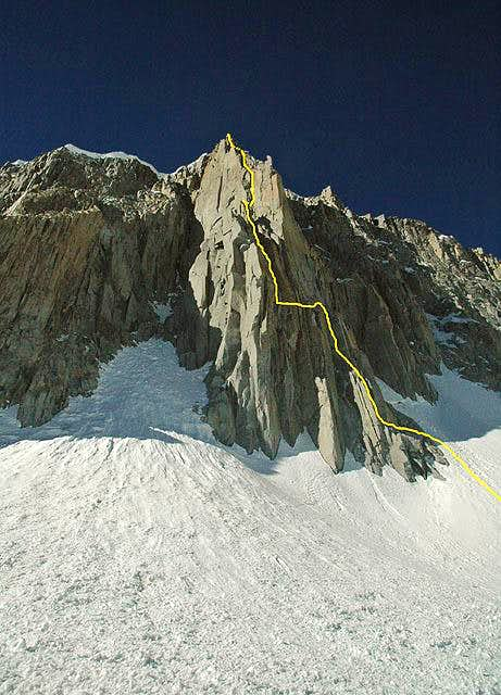 Mt. Goode\'s North Buttress...