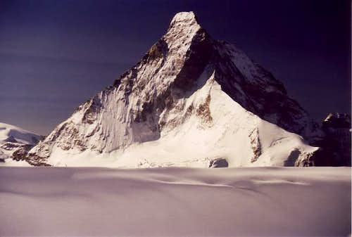 North face seen from Col...