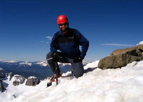 Me on the summit of Mount...