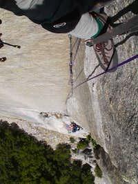 Looking down on Summitpost's...