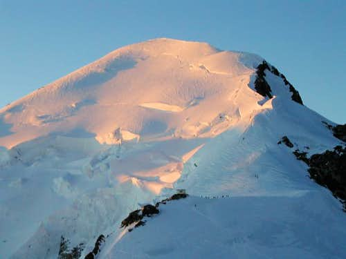 Mont Blanc upper part from...