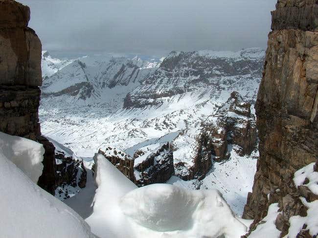 Snow climbing done, rock...