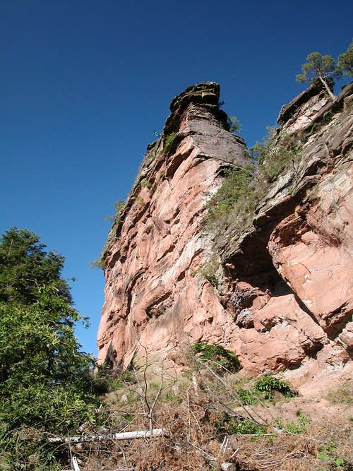 West face of Asselstein\'s...