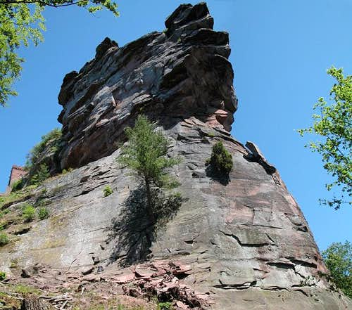 Trifels south face as seen...