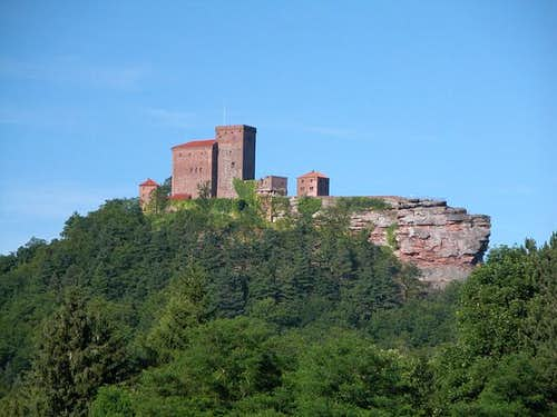 Trifels Castle seen from...