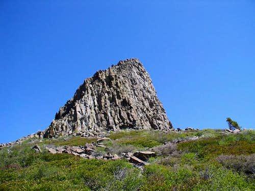 South summit of Devils Peak....