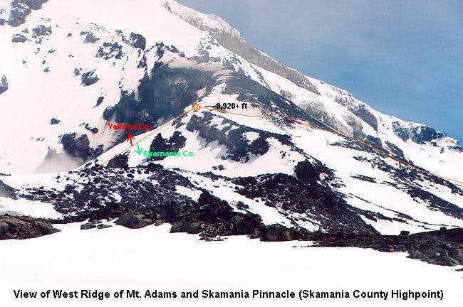 """Skamania Pinnacle"" (West Ridge of Adams)"