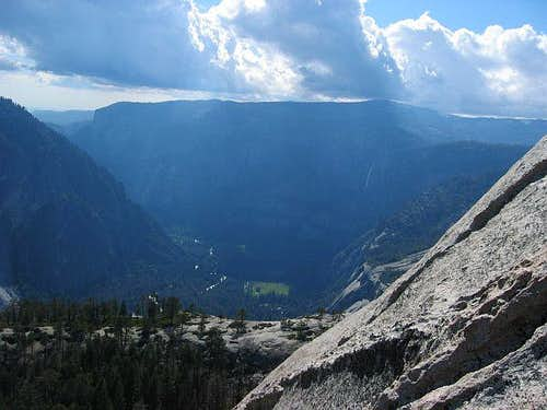 View of Yosemite Valley from...