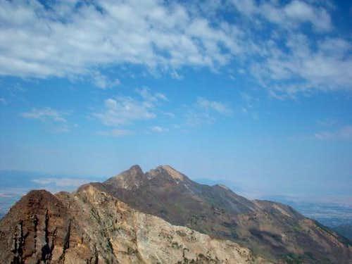 Twin Peaks as seen from Monte...