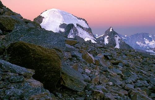 The summits of Ciarforon and...