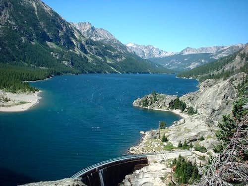 Photo of Mystic lake before...
