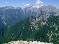 Summit panorama of Rzenik. On...