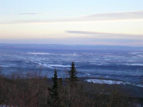 Fairbanks from the summit