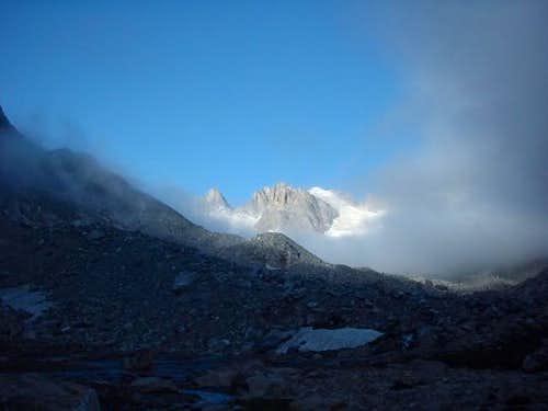 Photo of Dinwoody Glacier...