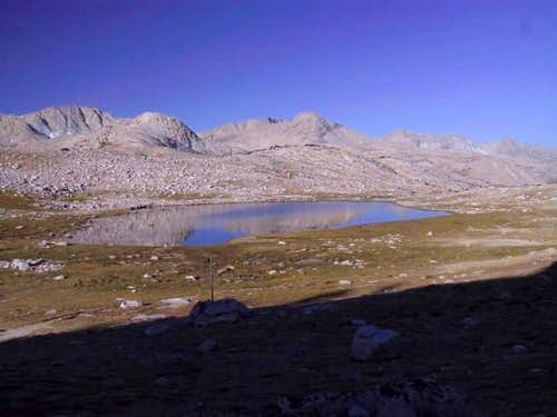 Summit Lake from the Paiute...